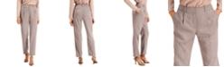 Alfani Pleated Slim-Fit Pants, Created for Macy's