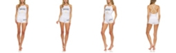 It's Just A Kiss Women's Sleeveless Tank Top and Shorts Set