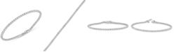 Macy's Diamond Tennis Bracelet (3-3/8 ct. t.w.) in 14K White Gold