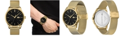Lacoste Men's Vienna Gold Plated Bracelet Watch 42mm