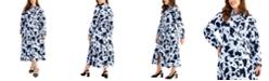 Alfani Plus Size Maxi Shirtdress, Created for Macy's