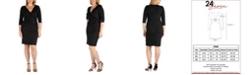 24seven Comfort Apparel Women's Plus Size Dress