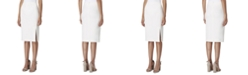 Tahari ASL Back-Slit Pencil Skirt