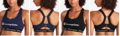 Champion Women's The Authentic Cutout Racerback Medium Impact Sports Bra