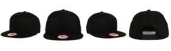 New Era Brooklyn Dodgers Black on Black 9FIFTY Snapback Cap
