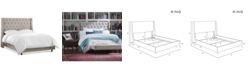 Skyline Marcone Wingback Bed - King