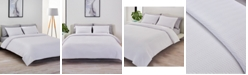 Lacoste Home CLOSEOUT! Cotton Chevron Quilted Twin Coverlet