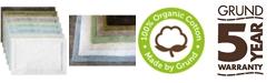 Grund Asheville Series Organic Cotton Bath Rug Collection
