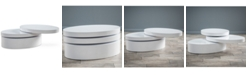 Noble House Wylla Rotatable Coffee Table