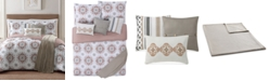 Jennifer Adams Home Maywood Reversible 7-Pc. Printed King Comforter Set