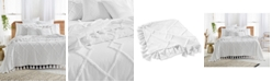Lucky Brand Diamond Tuft Queen Bed Cover, Created for Macy's