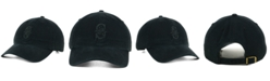 '47 Brand Seattle Mariners Black on Black CLEAN UP Strapback Cap