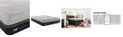 "Sealy Kelburn II 13"" Hybrid Cushion Firm Mattress- Queen"