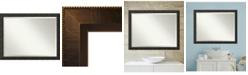 Amanti Art Signore 44x34 Bathroom Mirror