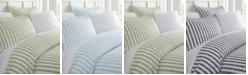 ienjoy Home Tranquil Sleep Patterned Duvet Cover Set by The Home Collection, Queen/Full