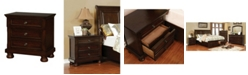 Furniture of America Ainsley Transitional Nightstand