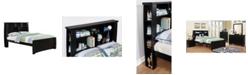 Furniture of America Devon Full Bookcase Platform Bed
