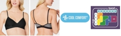 Hanes Ultimate Comfy Support 2-ply Wireless Bralette DHHU11, Online Only