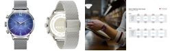 WELDER Men's Stainless Steel Mesh Bracelet Watch 42mm