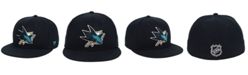 Authentic NHL Headwear San Jose Sharks Basic Fan Fitted Cap