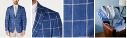 Lauren Ralph Lauren Men's UltraFlex Classic-Fit Windowpane Linen Sport Coat
