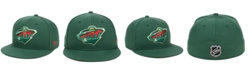 Authentic NHL Headwear Minnesota Wild Basic Fan Fitted Cap