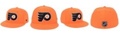 Authentic NHL Headwear Philadelphia Flyers Basic Fan Fitted Cap