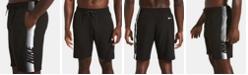 "Nike Men's Big & Tall 9"" Retro Stripe Volley Shorts"