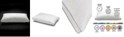 Ella Jayne Memory Fiber Pillow 100% Cotton Luxurious Mesh Gusseted Shell All Sleeper Pillow - Standard