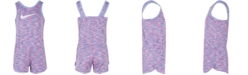 030bb4133d73 Nike Toddler Girls Heathered Sport Essentials Romper   Reviews ...
