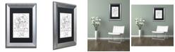 "Trademark Global Jennifer Nilsson Noahs Ark Matted Framed Art - 16"" x 20"" x 0.5"""