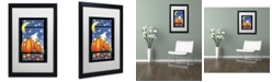 "Trademark Global Jennifer Nilsson Hiding Ghost Matted Framed Art - 16"" x 20"" x 0.5"""