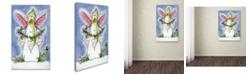 "Trademark Global Jennifer Nilsson Snow Angel Canvas Art - 11"" x 14"" x 0.5"""