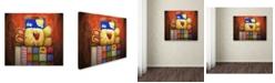 "Trademark Global Jennifer Nilsson Sweet Dreams Bunny Canvas Art - 11"" x 14"" x 0.5"""