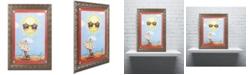 "Trademark Global Jennifer Nilsson Fun in the Sun Ornate Framed Art - 18"" x 24"" x 2"""