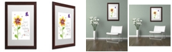 "Trademark Global Jennifer Nilsson Seeds of Kindness Matted Framed Art - 11"" x 14"" x 0.5"""