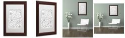 "Trademark Global Jennifer Nilsson Create Joy Matted Framed Art - 11"" x 14"" x 0.5"""