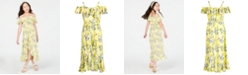 Epic Threads Big Girls Floral-Print Maxi Dress, Created for Macy's