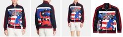Polo Ralph Lauren Men's Logo Double-Knit Track Americana Jacket, Created for Macy's