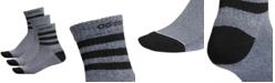 adidas Men's 3-Pk. High Quarter Socks