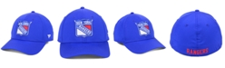 Authentic NHL Headwear New York Rangers Basic Flex Stretch Fitted Cap