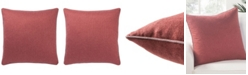 """Jaipur Living Rollins Solid Down Throw Pillow 22"""""""