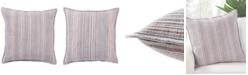 """Jaipur Living Taye Stripe Poly Throw Pillow 22"""""""