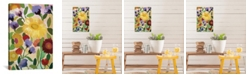 """iCanvas """"Irises"""" By Kim Parker Gallery-Wrapped Canvas Print - 26"""" x 18"""" x 0.75"""""""