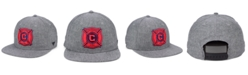 Lids Authentic MLS Headwear Chicago Fire Chambray Snapback Cap