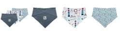 Mac & Moon Mac and Moon 3-Pack Bandana Bibs in Nautical Prints