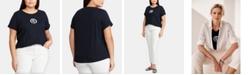 Lauren Ralph Lauren Plus Size Relaxed-Fit T-Shirt