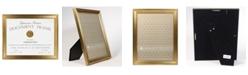 """Lawrence Frames Sutter Burnished Gold Picture Frame - 8.5"""" x 11"""""""