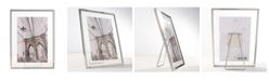 """Lawrence Frames Garett Silver Metal Float - 5"""" x 7"""""""