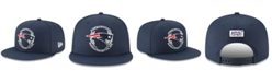 New Era Little Boys New England Patriots Draft 9FIFTY Snapback Cap